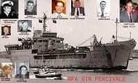 RFA Sir Percivale 1982