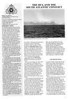 Page 1 - The RFA and the South Atlantic Conflict