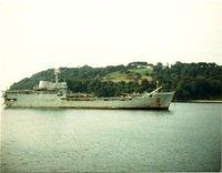 Lancelot Entering Devonport